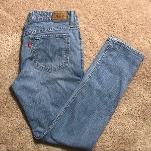 Levi's 518 Skinny Jeans 11 Short/petite